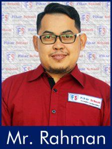 Mr. Rahman