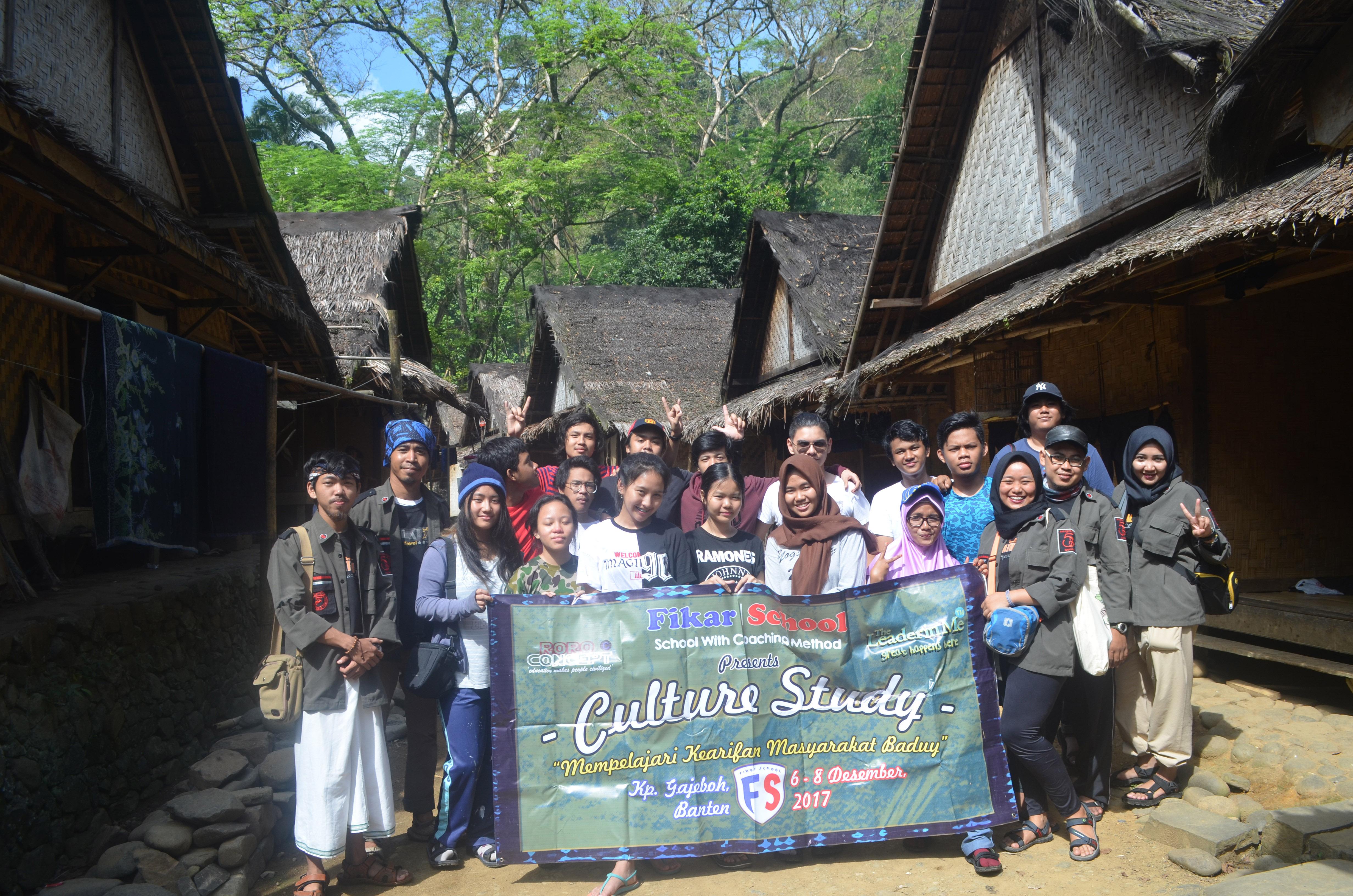 Culture Study Kp Gajeboh Banten